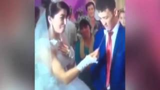 Angry groom KICK OFF in spectacular fashion at wedding