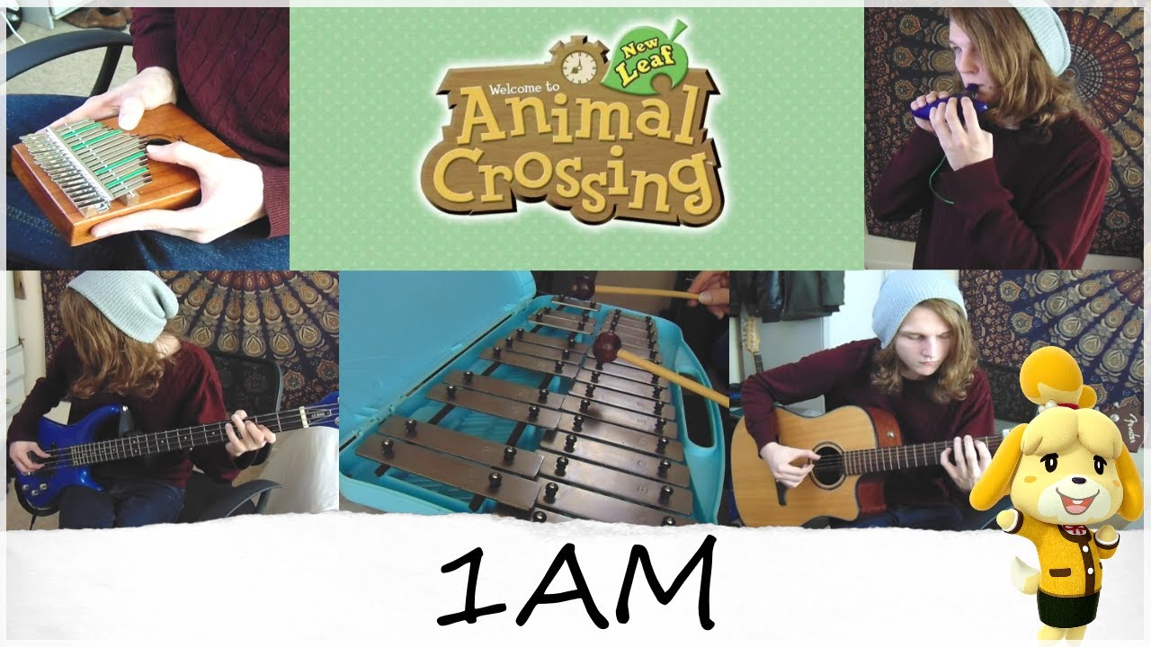 Animal Crossing New Leaf - 1am Acoustic Cover