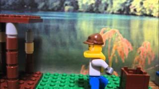 小学5年生で習う「大造じいさんとがん」をレゴのコマ撮りで再現してみま...