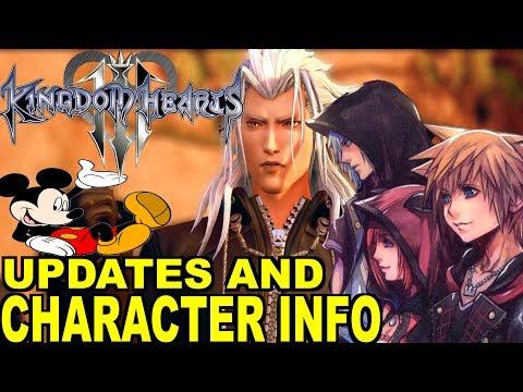 Kingdom Hearts 3 News: Update and Character Info