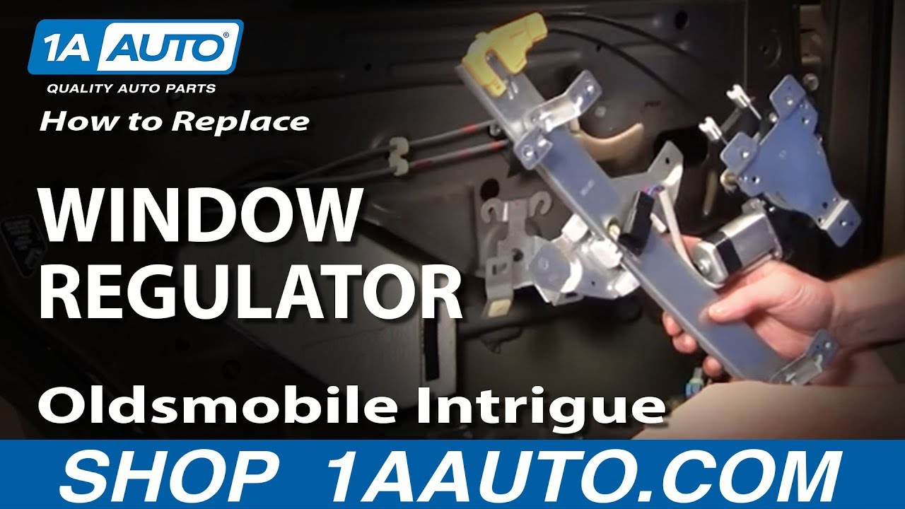 How To Install Replace Rear Power Window Regulator