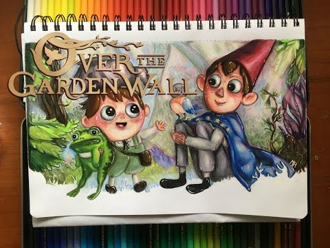 Over The Garden Wall // Speed Drawing