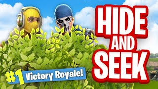 *NEW* HIDE & SEEK Custom Gamemode (Fortnite Battle Royale)