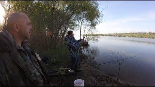 Рыбалка с подписчиком на Каховском вдхр.