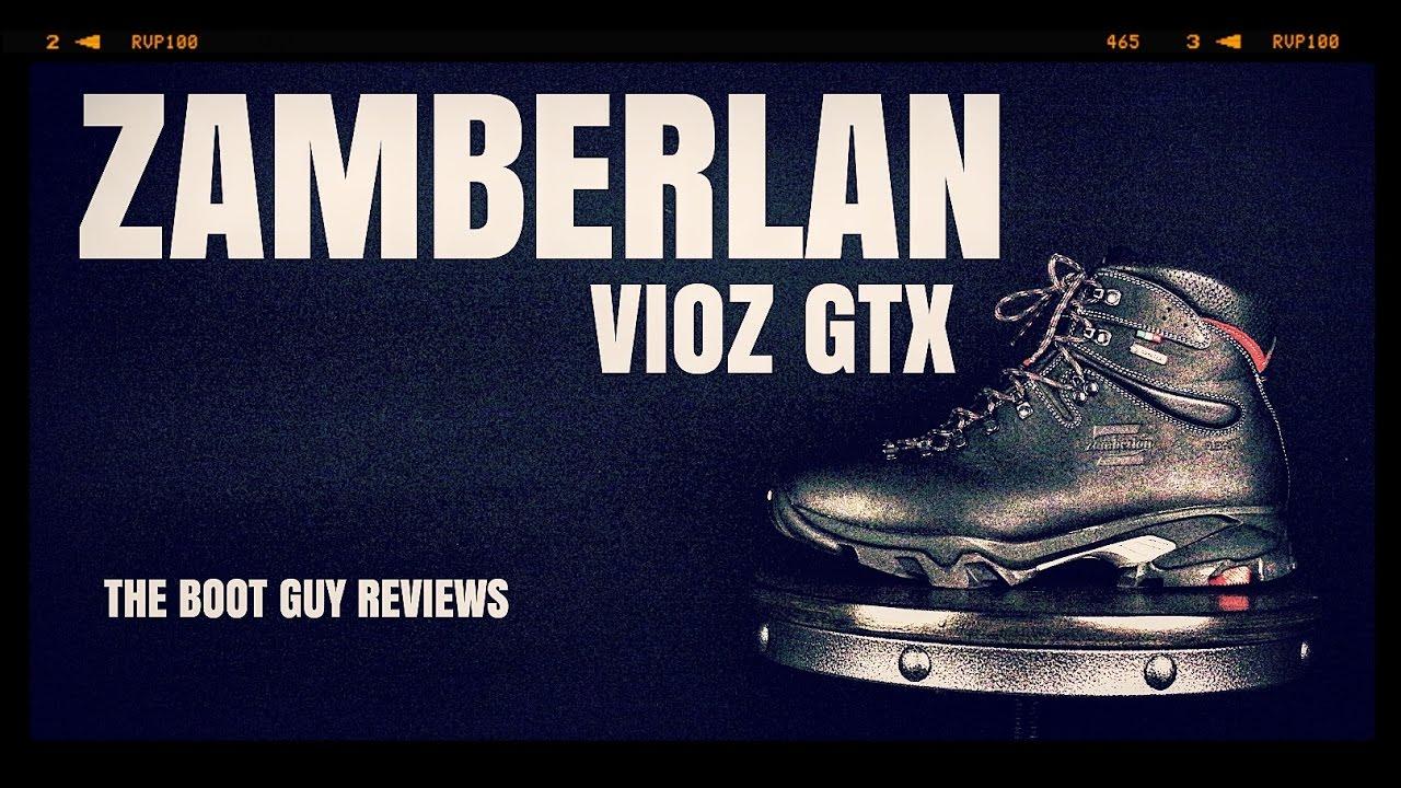 ff1ca5670a1 Zamberlan #996 VIOZ GTX [ The Boot Guy Reviews ]