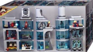 레고 어벤져스 타워 공격 76038 조립 리뷰 Lego Super Heroes Attack on Avengers Tower