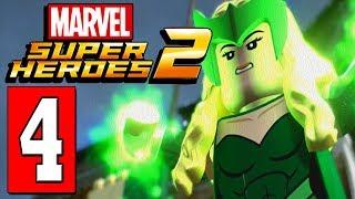 LEGO Marvel Super Heroes 2 Walkthrough Part 4 GARRET CASTLE GROOT CAGE PUZZLE / GOLDEN APPLE PUZZLE