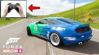 Forza Horizon 4 Дерзкий Ford Mustang GT. Лучшая машина для дрифта в ФОРЗА ХОРАЙЗЕН 4
