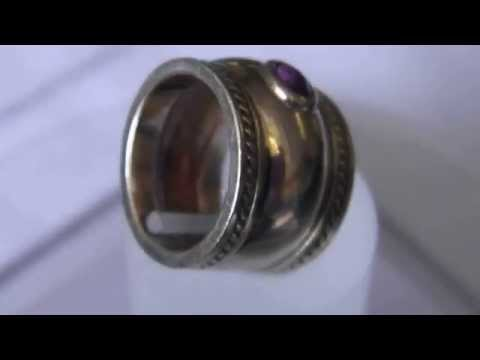 Antique 9ct Gold Ruby Ring
