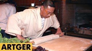 Soba Master Kanji Nakatani Teaches How To Make Dashi Soup & Soba Noodle