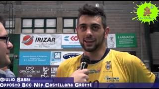 13-03-2013: Intervista a Giulio Sabbi nel post gara1 ottavi NewMater-Vibo 3-2