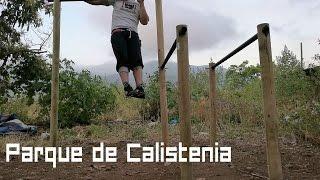 ¿Como hacer un Parque de Calistenia en casa y con poco dinero?
