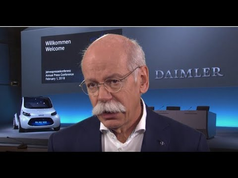 Daimler Annual Press Conference 2018 - Dieter Zetsche Interview
