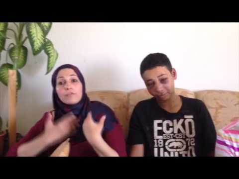 Beaten Palestinian-American teen, mother speak out on Israeli police