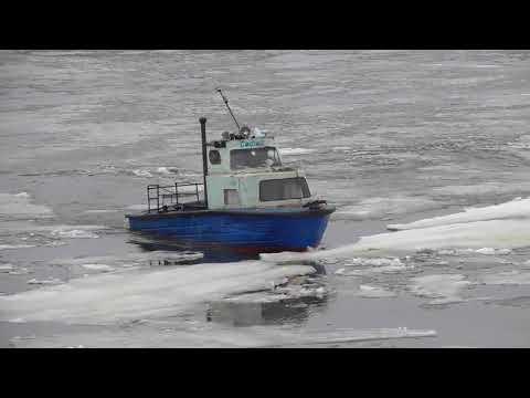 Звениговский затон 16 апреля 2019 года