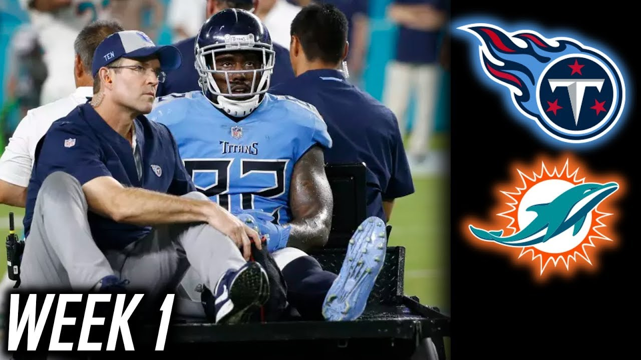 Titans vs. Miami Dolphins: Marcus Mariota injured and other things to know
