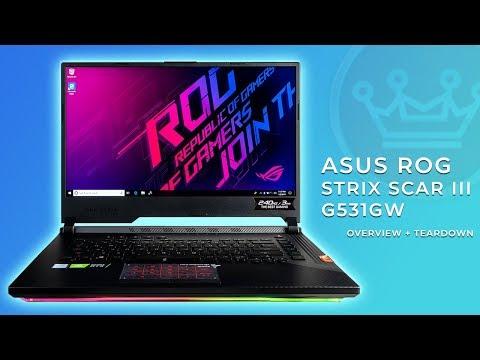 ASUS ROG Strix Scar III G531GW Overview & Teardown - 15.6