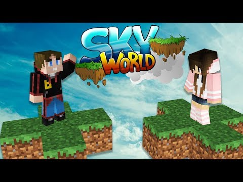 Hallo Ive ⛅ Sky World #1 Minecraft Deutsch ⛅ baastiZockt
