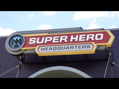 Super Hero Headquarters NEW Marvel Store at Disney Springs, FULL TOUR at Downtown Disney