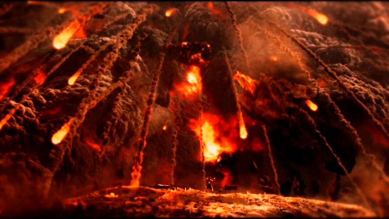 Water Animation Wallpaper Falling Earth World On Fire Youtube