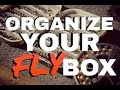 How to Organize Your Fly Box -  BEST METHOD SYSTEM
