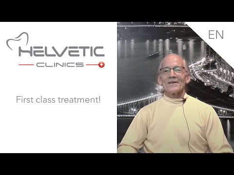 Sinus lift, implants, PFM crowns and screw retained bridge - Helvetic Clinics