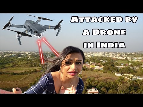 V12: ATTACKED by a Mavic Pro DRONE after arriving to Bangalore, INDIA!