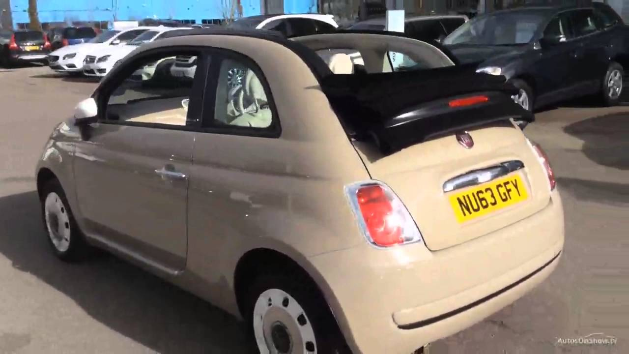fiat 500 c colour therapy beige buff 2014 youtube. Black Bedroom Furniture Sets. Home Design Ideas