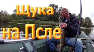 Рыбалка на щуку на реке Псел