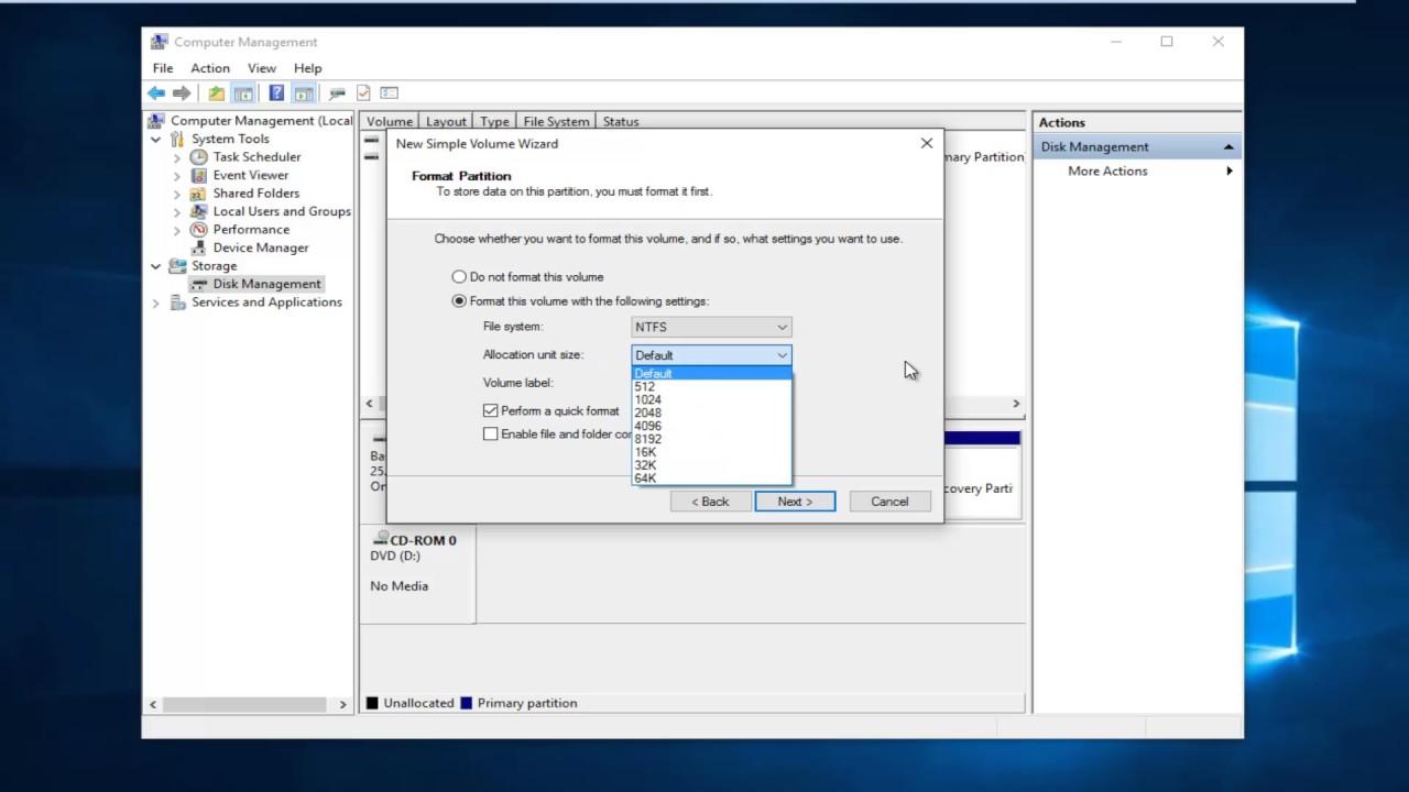Cách Xử Lí Khi Windows 8 Không Nhận Ổ Cứng Thứ Hai - VERA STAR