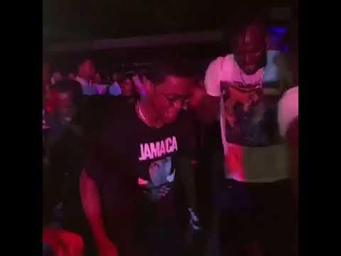 Tariq in power seen in Jamaica dancing