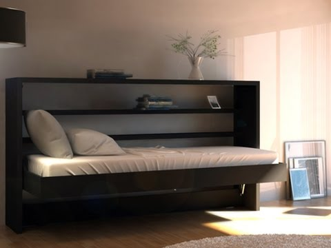 Horizontal Twin Murphy Bed Youtube