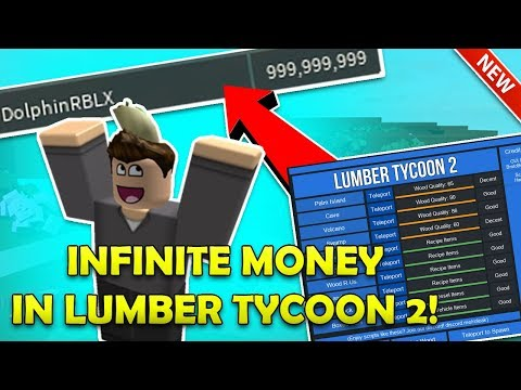 ROBLOX - INFINITE MONEY IN LUMBER TYCOON 2 (Working) Lumber GUI, Lumber InstaChop and MORE!