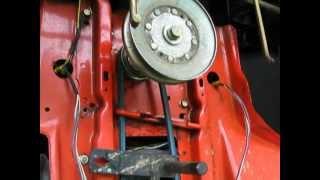 Scotts John Deere 1642H Riding Mower Kevlar Transmission Belt Replacement