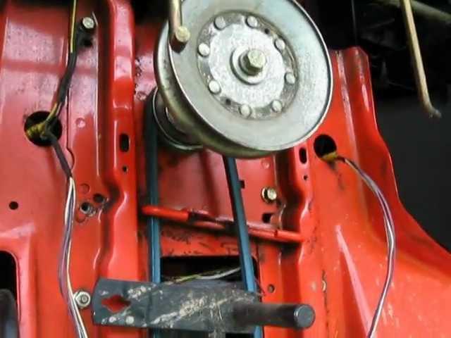 [QMVU_8575]  Scotts John Deere 1642H Riding Mower Kevlar Transmission Belt Replacement -  YouTube | Scotts L1742 Wiring Diagram |  | YouTube