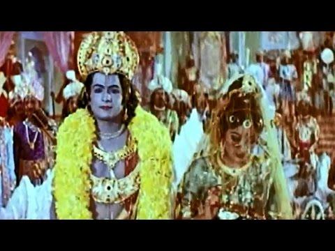 Brahmarshi Viswamitra Movie || Sita Rama Kalyanam Video Song || NTR, Balakrishna