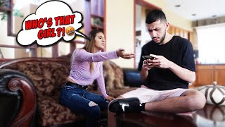 IGNORING MY EX-GIRLFRIEND FOR A DAY! *SHE FLIPPED OUT*