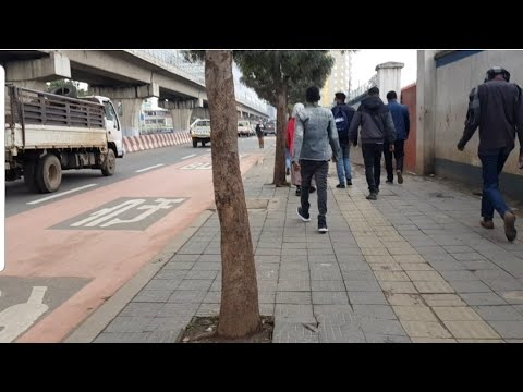 01.AUGUST2020, Today Weather information Addis Ababa in Ethiopia street view, ኢትዮጵያ, 에티오피아 아디스아바바 날씨