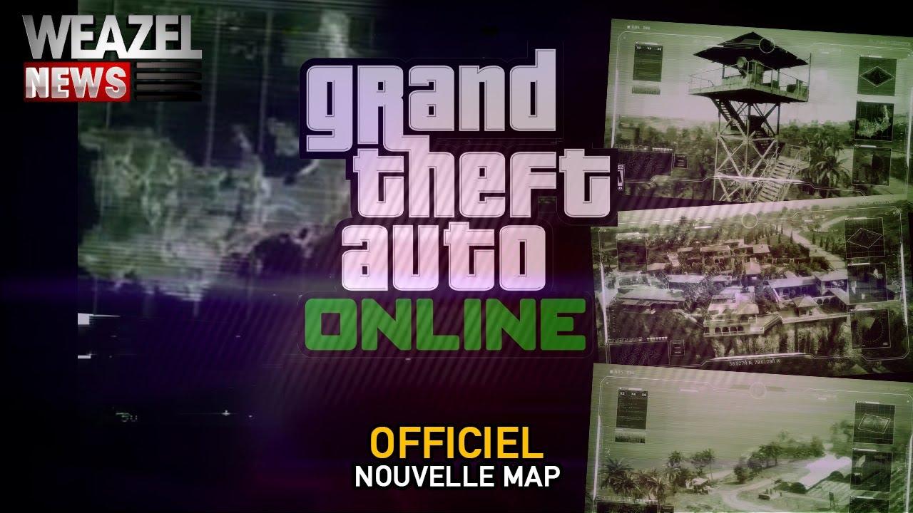 ANALYSE - LA NOUVELLE MAP DE GTA ONLINE (DÉCEMBRE 2020)
