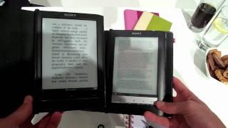 Sony Reader PRS-650 Touch Edition Hands On @ Ifa 2010 (german/deutsch)