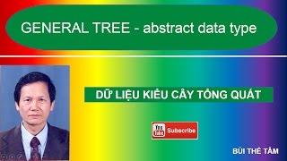 General Tree (abstract data type) – Dữ liệu kiểu cây - Bài 13 - Bùi Thế Tâm