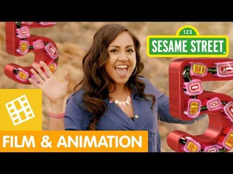 Sesame Street: Five Kangaroos with Jessica Mauboy!