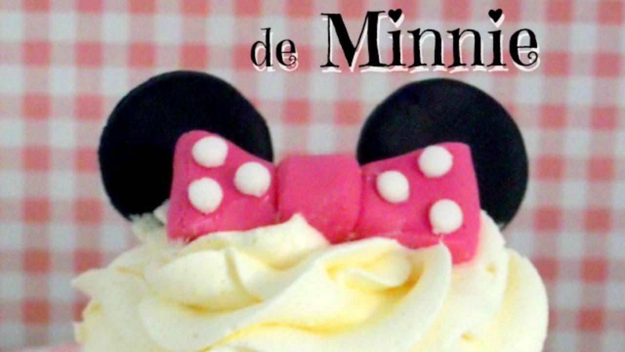 Tutorial Cómo Hacer Cupcakes De Minnie