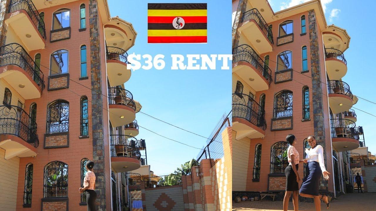 $36 APARTMENTS FOR RENT IN UGANDA!