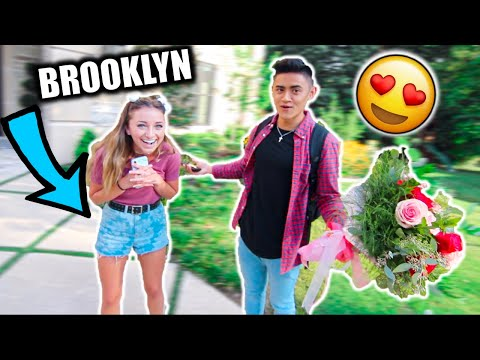 Going On A DATE With My CRUSH... Ft. Brooklyn & Bailey