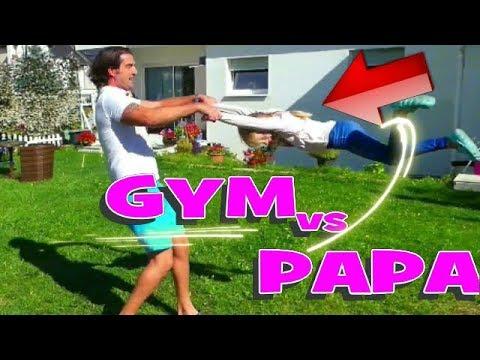 Challenge Gymnastique : Alicia contre Papa