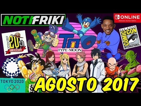 Anime de Splatoon / TOKYO 2020 / Final de FAIRY TAIL / Live Actions confirmados y mas / NOTIFRIKI from YouTube · Duration:  21 minutes 58 seconds