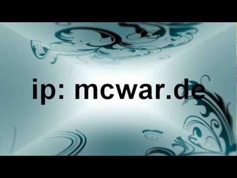 Minecraft 1.4.4 Server ip: mcwar.de / cod.mcwar.de