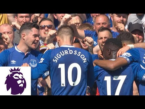 Gylfi Sigurdsson connects with Theo Walcott for goal v. Man United | Premier League | NBC Sports