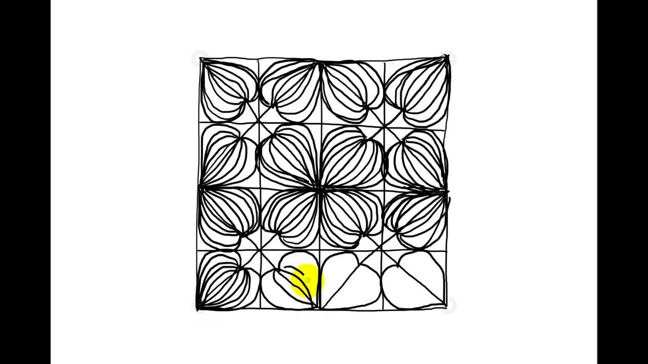 Zentangle Patterns | Tangle Patterns? - Bumpkenz - YouTube